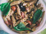 Ricetta primo piatto, pasta con tonno